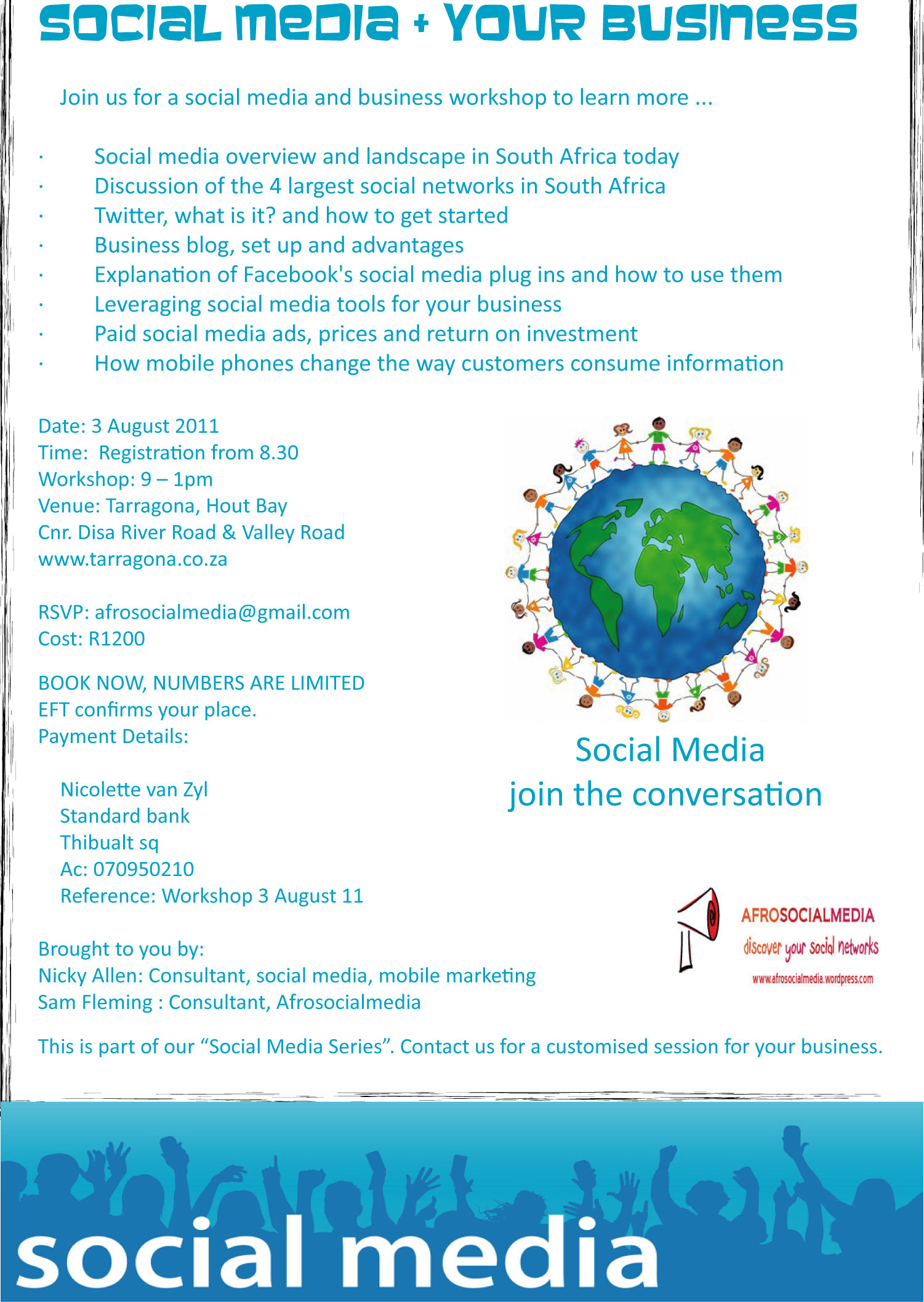 Social Media Workshop for SME's – Join the Conversation